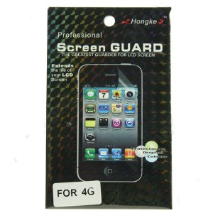 Display Schutz Folie Protector für Apple iPhone 4 NEU